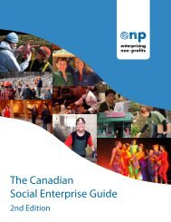 The Canadian Social Enterprise Guide