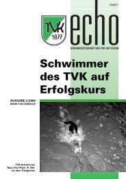 Schwimmer des TVK auf Erfolgskurs - Turnverein 1877 eV Essen ...
