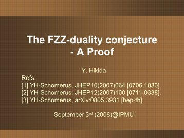 The FZZ-duality conjecture - A Proof