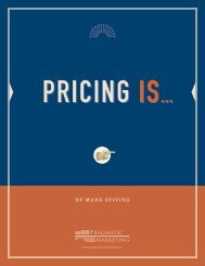 Pricing is