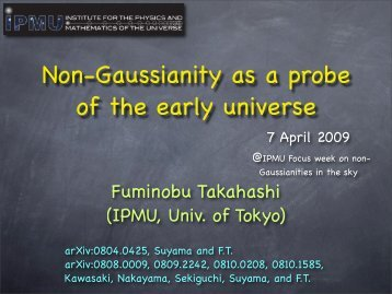 Non-Gaussianity as a probe of the early universe
