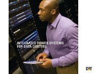 INTEGRATED POWER SYSTEMS FOR DATA CENTERS