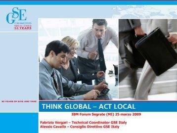 Collaborazione con Università di Tor Vergata ... - Guide Share Italia