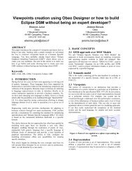 Viewpoints creation using Obeo Designer or how to build Eclipse ...