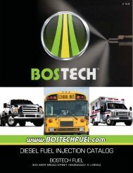 DIESEL FUEL INJECTION CATALOG - Bostech Fuel Injectors