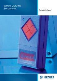 Optische Sicherheitsleiste - Becker-Antriebe