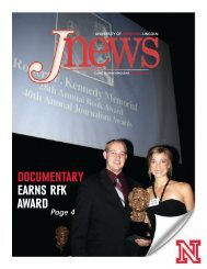 documentary earns rfk award - College of Journalism and Mass ...