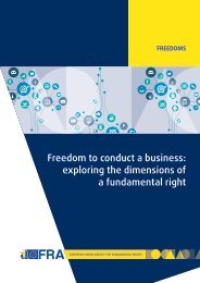 Freedom to conduct a business exploring the dimensions of a fundamental right