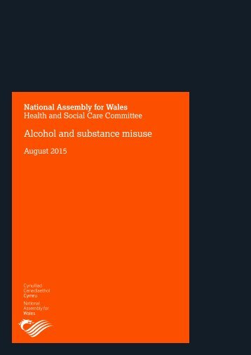 Alcohol and substance misuse