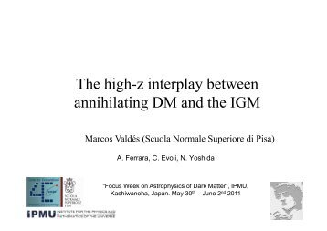 The high-z interplay between annihilating DM and the IGM