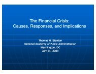 The Financial Crisis Causes Responses and Implications