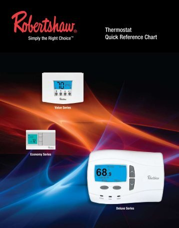 Thermostat Quick Reference Chart