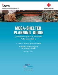 MEGA-SHELTER PLANNING GUIDE A Resource and Best - IAVM