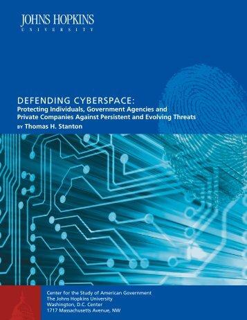 Defending Cyberspace