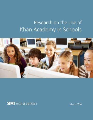 Khan Academy in Schools