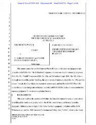 Case 2:10-cv-01797-JCC Document 46 Filed 03 ... - Wilderness Watch