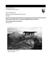 Heavens Peak Fire Lookout Stabilization Project