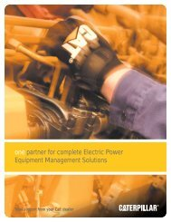 one partner for complete Electric Power Equipment Management Solutions