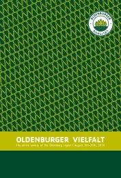 Oldenburger Vielfalt - BdB Landesverband Weser-Ems