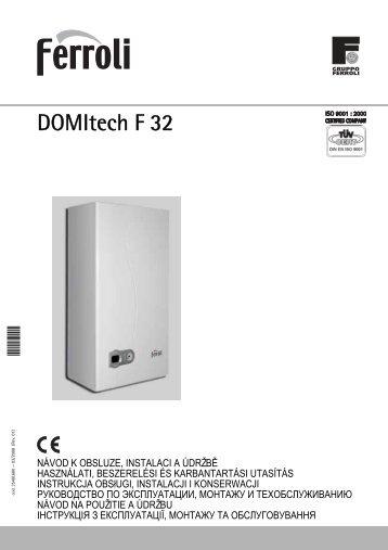 Ferroli Domina F32 N Инструкция - фото 8