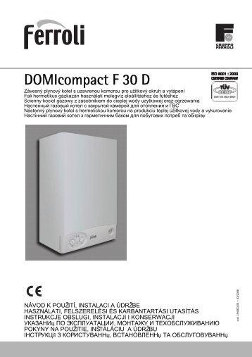 Divatop c 24 for Ferroli domicompact