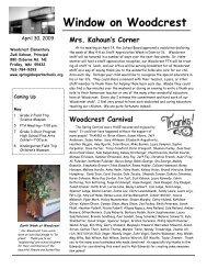 April 30, 2009 - High School - Spring Lake Park Schools