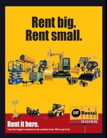 Rental Line Card-2 - Cat Rental Store