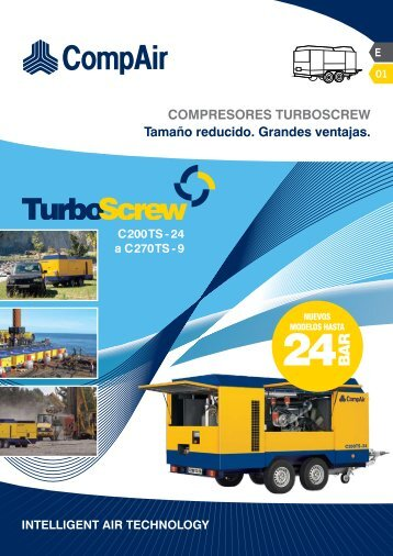 COMPRESORES TURBOSCREW Tamaño reducido ... - CompAir