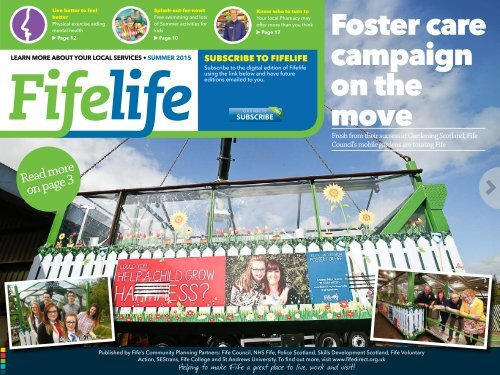 Foster care campaign on the move