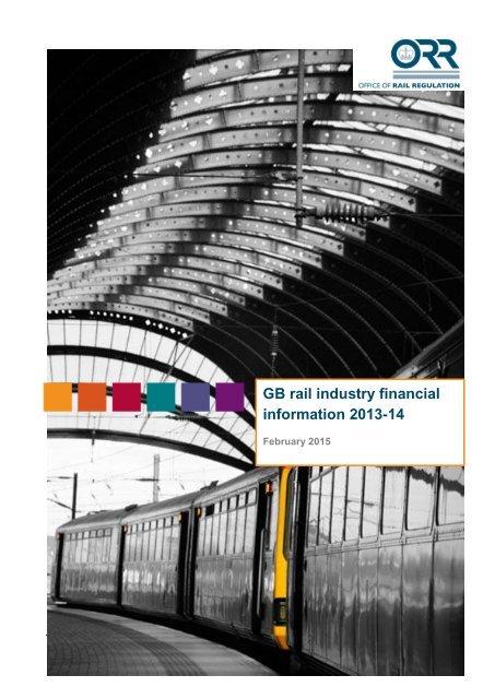 GB rail industry financial information 2013-14