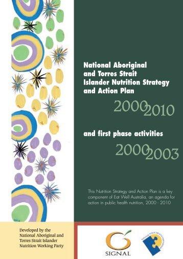 National Aboriginal and Torres Strait Islander Nutrition ... - NPHP