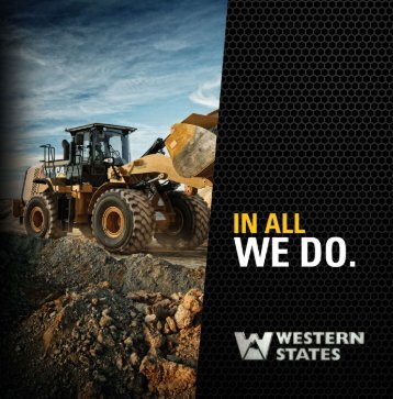 company brochure - Western States CAT