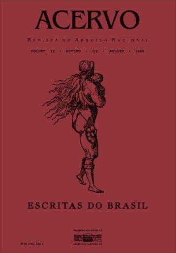 Escritas do Brasil, v.12, n. 1/2 - Arquivo Nacional