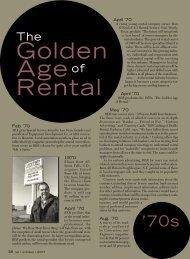Golden Age Rental