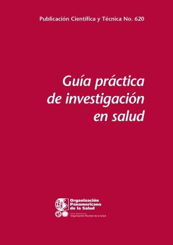 Guía práctica de investigación en salud