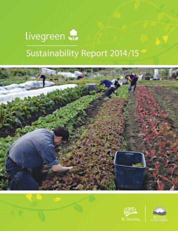 Sustainability Report 2014/15