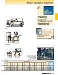 Bombas manuales de baja presión, serie P Con menos de ... - Unimaq - Page 2