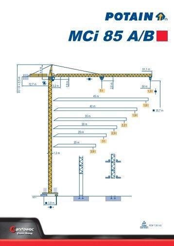 MCi 85 A/B - Corpinsa