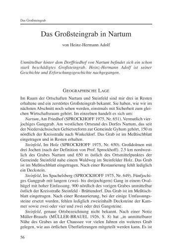 Steingrab als PDF - Nartum