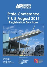 State Conference 7 & 8 August 2015