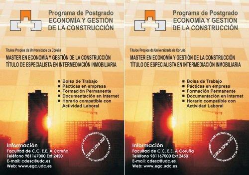 Programa de Postgrado ECONOMÍA Y GESTIÓN DE LA ...