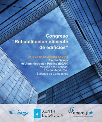 """Congreso """"Rehabilitación eficiente de edificios"""""""