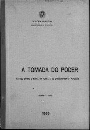 A TOMADA DO PODER