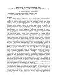 Pedrosa LLeite, Educaçao en Ciencias, Ponencia - Enciga