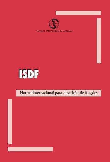 Norma internacional para descrição de funções - Conarq - Arquivo ...