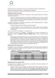 CARTA DE PRECIOS Y DE SERVICIOS DEL COAG