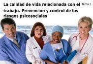 trabajo Prevención y control de los riesgos psicosociales