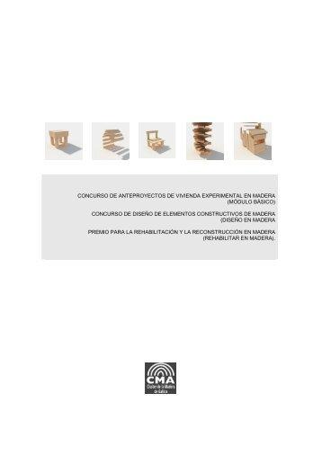 concurso de anteproyectos de vivienda experimental en madera