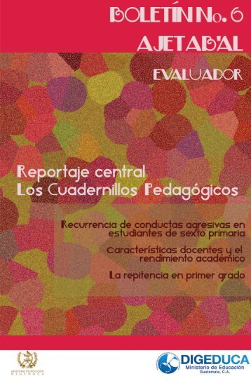 SERIE DE CUADERNILLOS PEDAGÓGICOS No.1 - Mineduc