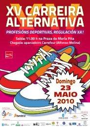 Cartel do evento - COLEF Galicia